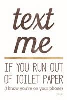 Text Me Fine Art Print