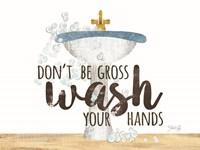 Wash Your Hands Sink Fine Art Print