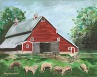 Clitherall Farm Fine Art Print