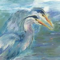 Haute Herons Fine Art Print