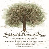 Lessons From a Tree Fine Art Print
