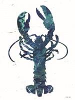Bright Lobster Blue Fine Art Print