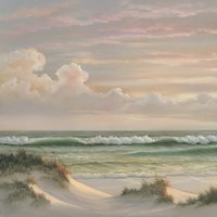 Coastal Dusk I Fine Art Print