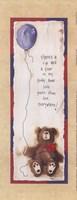 """Teddybear Tear by Carol Robinson - 4"""" x 10"""""""