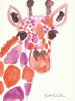 A Giraffe Named Liz Fine Art Print