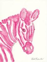 Sabrina the Zebra Fine Art Print