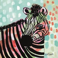 Wilma the Zebra Fine Art Print