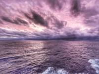 Shades of Purple Sunset Fine Art Print