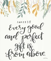 Every Good and Perfect Gift Fine Art Print