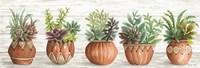 Terracotta Pots I Framed Print