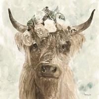 Cow and Crown II Fine Art Print