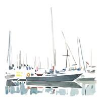 Sailboat Scenery I Fine Art Print