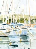 By the Bay I Framed Print