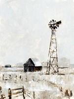 Rustic Prairie II Fine Art Print