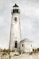 Rustic Lighthouse I Framed Print