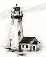 Lighthouse Study I Framed Print