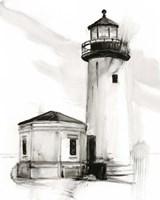 Lighthouse Study II Framed Print