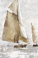 Golden Sails I Fine Art Print
