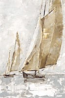 Golden Sails II Fine Art Print