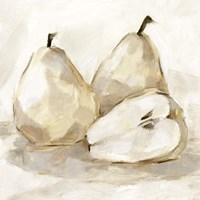 White Pear Study I Fine Art Print