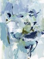 Azure Abstract II Fine Art Print