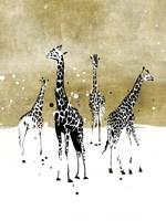 Spotted Giraffe I Framed Print