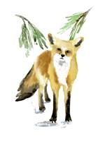 Snowy Fox II Fine Art Print