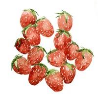 Strawberry Picking I Fine Art Print