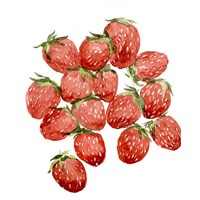 Strawberry Picking II Framed Print