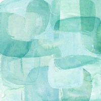 Sea Glass Reflection I Fine Art Print