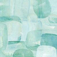 Sea Glass Reflection II Fine Art Print