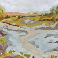 Lowland River II Framed Print