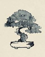 Indigo Bonsai I Fine Art Print