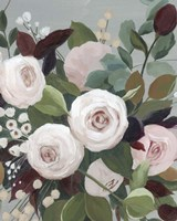 Bohemian Blooms II Framed Print