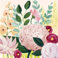 Mother's Day Blooms I Framed Print