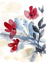 Flower Surprise II Framed Print