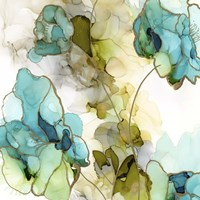 Flower Facets IV Framed Print