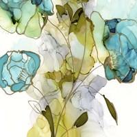 Flower Facets V Framed Print