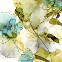 Flower Facets VI Framed Print