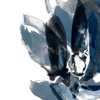Blue Exclusion IV Framed Print