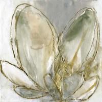Blooming Gold I Framed Print