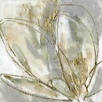 Blooming Gold II Framed Print