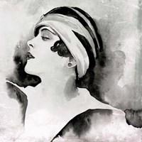 Les Yeux Noir II Framed Print
