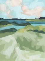 River Prism II Framed Print