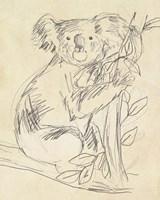 Outback Sketch I Fine Art Print