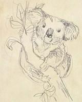 Outback Sketch II Fine Art Print