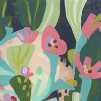 Tropical Celebration III Framed Print