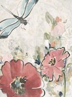 Meadow Spring I Framed Print