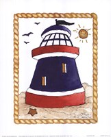"Lighthouse by Carol Robinson - 8"" x 10"""