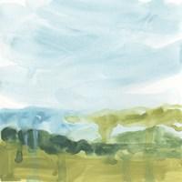 Landscape Flow I Framed Print